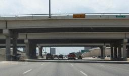 Overpasses on I-10 at Medical