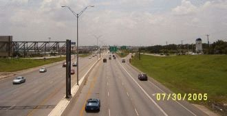 I-10 inbound at UTSA Blvd.