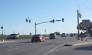 The oft-maligned intersection of Loop 1604 at Braun Rd.