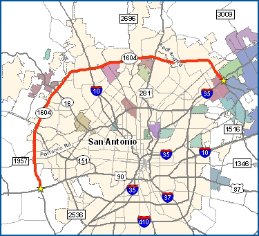 Massive Loop 1604 study goes back to the public « On the Move