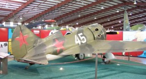 Polikarpov I-16 at the CAF museum, Midland, Texas