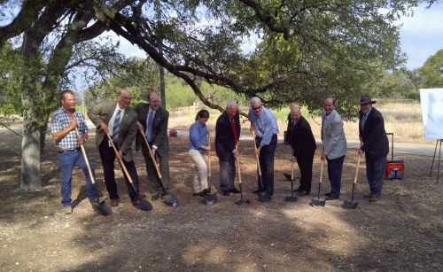 Wurzbach Pkwy groundbreaking