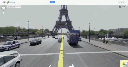 Eifel Tower from Street View